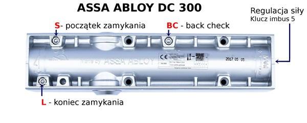 Zawory do regulacji samozamykacza DC 300